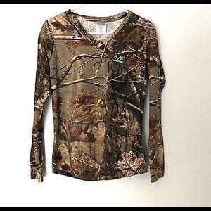 Realtree | Long sleeve Camouflage shirt